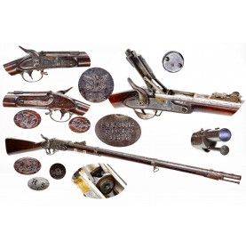 Exceptionally Rare & Fine Morse Altered US Model 1816 Musket - One Of Only 54 Produced