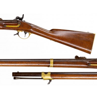 Rare Whitney Long Range Sighted US Model 1841 Mississippi Rifle for Saber Bayonet - Only 600 Produced in 1855