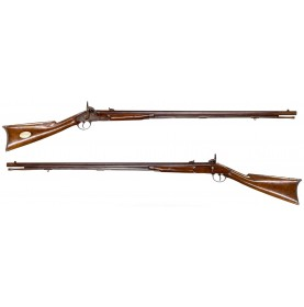 Rare Union Continental's Buffalo New York Militia Rifle by P Smith and Named to H Rumrill