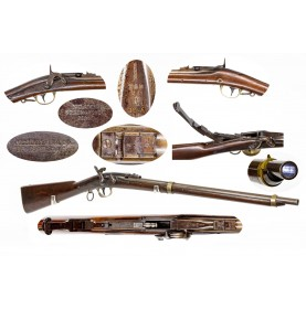 Scarce Jenks-Merrrill Navy Carbine - Less Than 300 Produced!