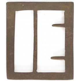 Untouched Dug Confederate Frame Buckle