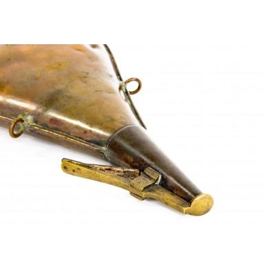 "Gosport Navy Yard ""GNY"" Marked Powder Flask - Rare - Only 500 Produced"