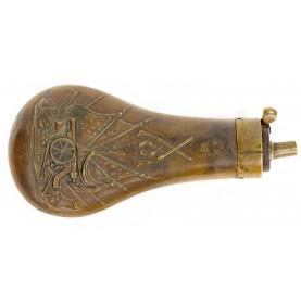 Scarce Colt KM Marked Prussian Naval Pistol Flask