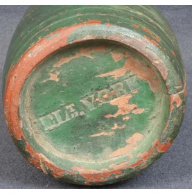 Identified Revolutionary War Rundlet Canteen - Exceptional!