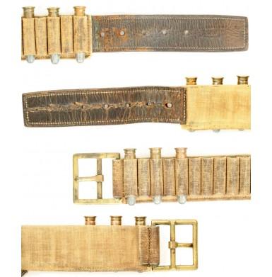 1876 Cartridge Belt - Very Rare Narrow Variant