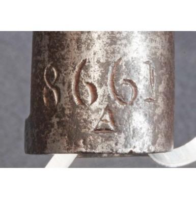 Confederate Imported Enfield Socket Bayonet #8661 / A