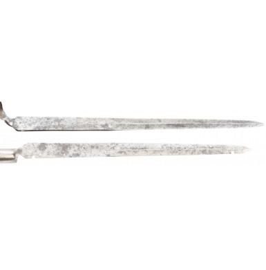 British Flat Blade (Dutch Pattern) Bayonet - Early 18th Century
