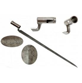 Jenks Naval Rifle Socket Bayonet - Extremely Rare