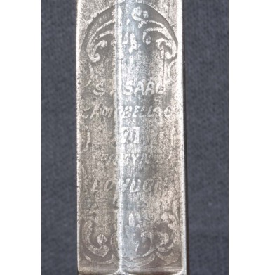 Confederate Imported British Officer's Pattern Sword