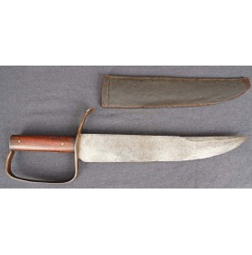 Confederate D-Guard Bowie Knife & Scabbard