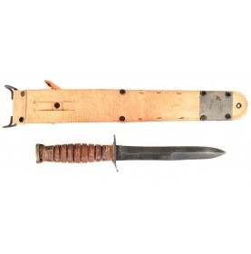 Excellent US M3 Trench Knife by Robeson with M6 Scabbard