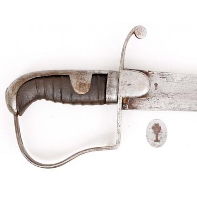 British Pattern 1796 Light Cavalry Trooper's Saber