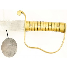 British P-1856 Pioneer's Sword with Firmin Retailer Mark