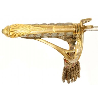 Gorgeous Isaac, Campbell & Company Marked P-1845 Officer's Sword