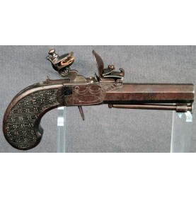 Flintlock Pocket Pistol by Guillaume Berleur