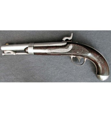 Confederate Altered M-1836 Pistol - Likely a Nashville Alteration