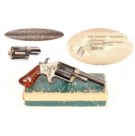 Brooklyn Arms Slocum Side Loading Revolver & Original Box