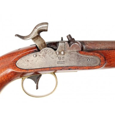 Excellent & Rare Rifled US Navy M-1842 Pistol by Deringer