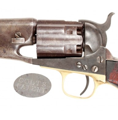 Colt Fluted Army with Factory Letter