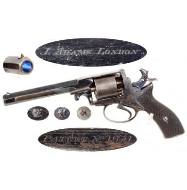 Webley Wedge Frame Revolver - Near Excellent
