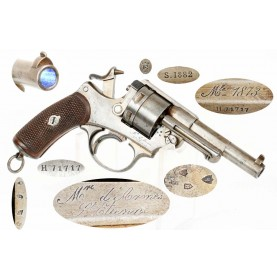 Chamelot-Delvigne M-1873 French Ordnance Revolver