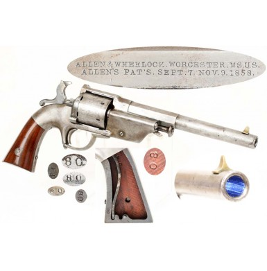 Allen & Wheelock Lip Fire Army Revolver