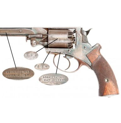 Captured Confederate Used Mass Arms Adams
