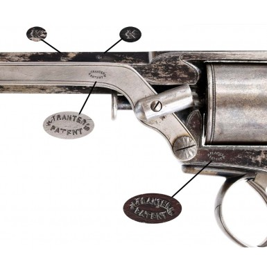 4th Model Tranter Revolver - Likely CS Used