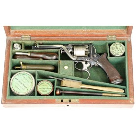 2nd Model Tranter Revolver - Fully Cased