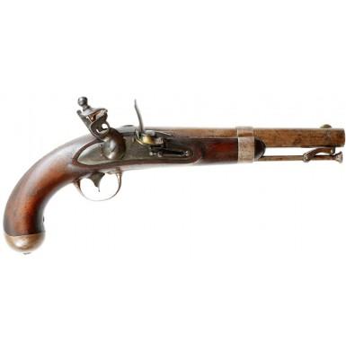Extremely Rare N. CAROLINA marked US M-1836 Pistol