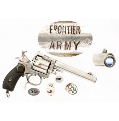 Belgian Frontier Army .44-40 Revolver