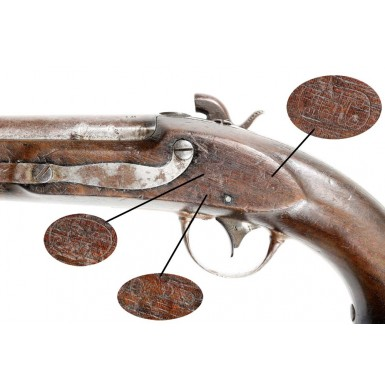 Confederate Fayetteville Conversion of a US M-1836 Pistol