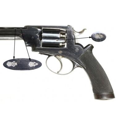 Cased Deane-Harding Pocket Revolver - Excellent