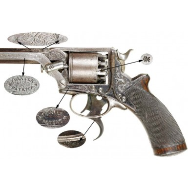 AB Griswold Marked Tranter Treble Action Revolver