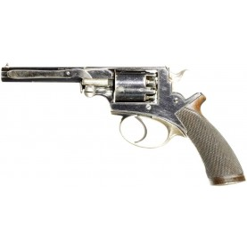 Cased Adams Pocket Revolver Retailed by Reilly