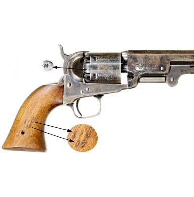 British Military Colt M1851 Navy Revolver - Rare