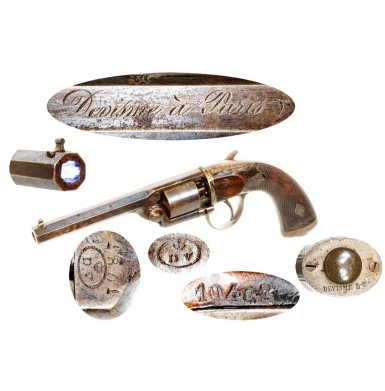 Devisme Percussion Pocket Revolver - Rare
