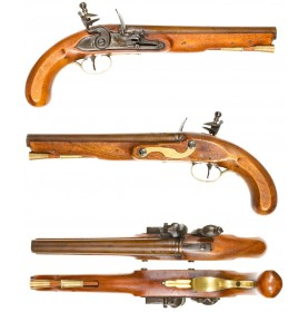 Extraordinary Pair of Henry Nock Flintlock Pistols