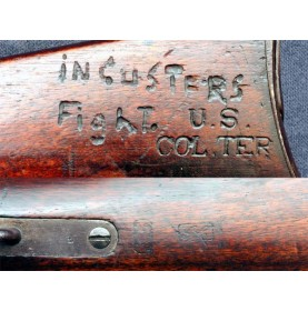 Colorado Territory Marked M-1865 Spencer with Custer Connection
