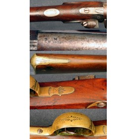 Flintlock New England Militia Officer's Fusil - Very Fiine