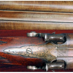 ID'd Double Barrel Shotgun - Major Deverux -69th PA Infantry