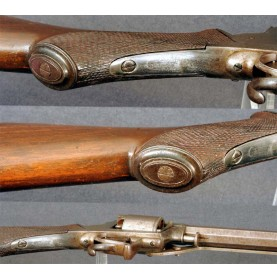 Extremely Scarce TRANTER Revolving Rifle