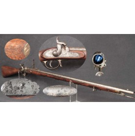 Confederate Imported P-1851 Minie Rifle - VERY SCARCE