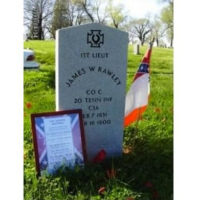 ID'd CS Enfield - JW Rawley - 20th TN Infantry
