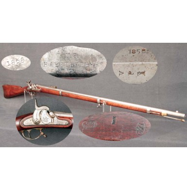 Harpers Ferry US M-1855 Rifle Musket - VERY FINE