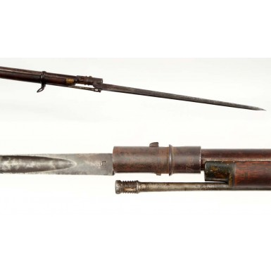 Confederate Imported Georgia G Enfield with Matching Bayonet