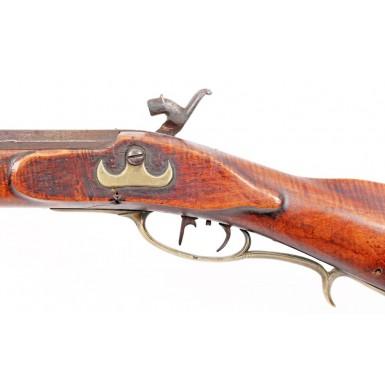 Antebellum Shenandoah Valley Rifle by J H Wells