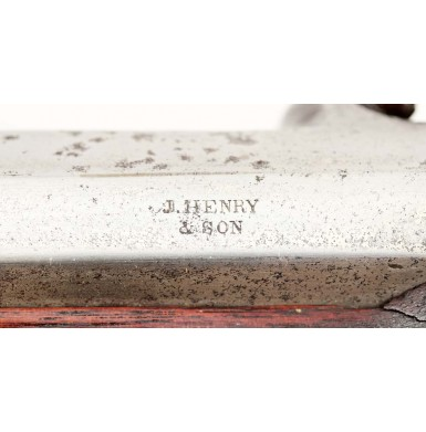 J Henry & Son Saber Rifle - Scarce Civil War Militia Rifle for Saber Bayonet