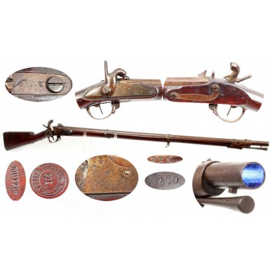 French M-1822Tbis Percussion Altered Rifled Musket