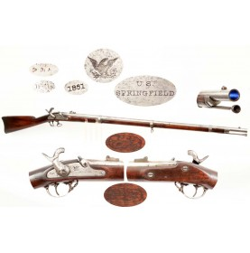 US M-1861 Springfield - 1861 Dated
